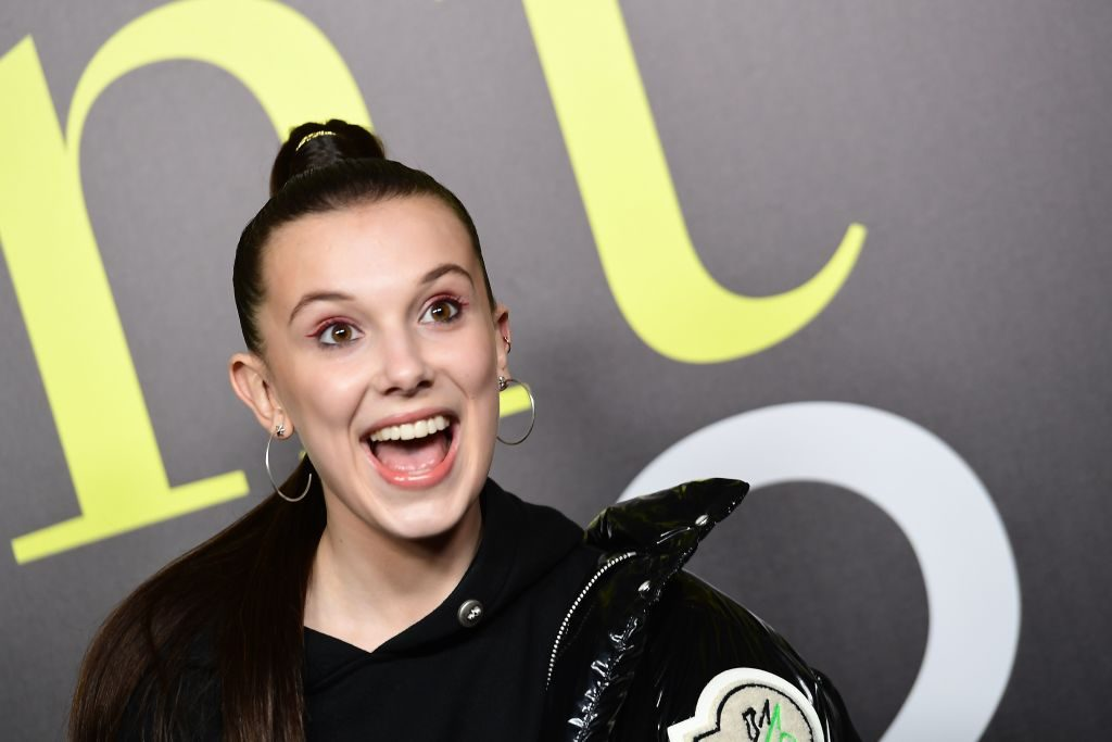 "Image result for Millie Bobby Brown Reveals ""The Best Thing About Fashion"""