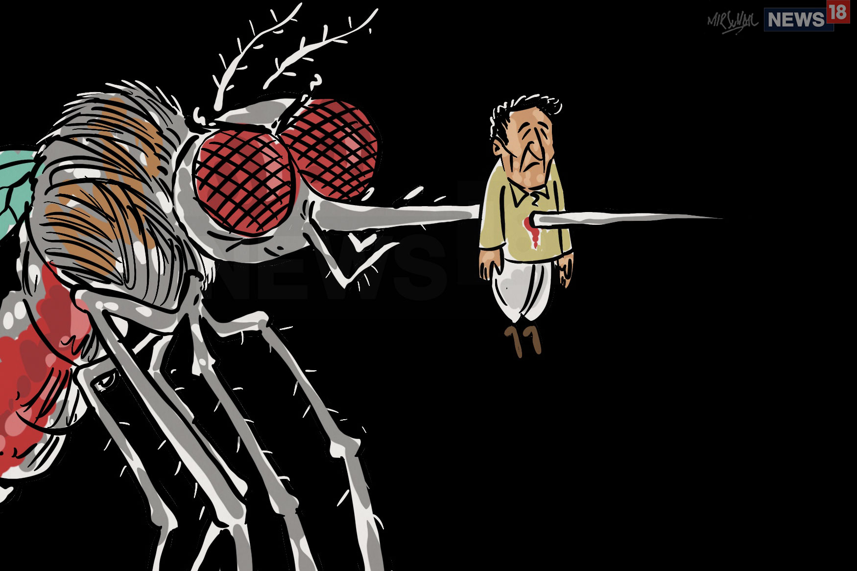 Dengue Takes 6 Lives in Karnataka, 10, 524 Cases Reported